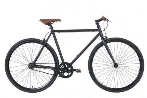 Fixed Gear fixie Popal stadsfiets 28 inch -zwart mh28