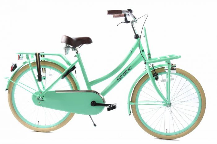 static-cargo-groen-24-inch-meisjes-transportfiets
