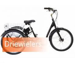 Volwassen driewieler fiets kopen bij Fietsenwinkel Rotterdam