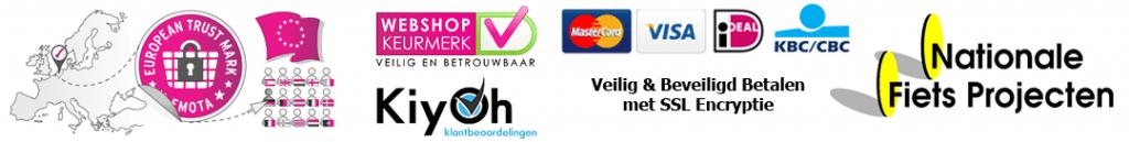 Fietshemel is partner van Webwinkel keurmerken