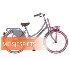 Meisjesfiets kopen bij Fietsenwinkel Rotterdam 24 inch Transportfietsen