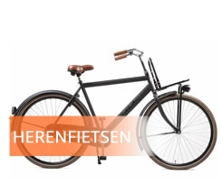 Heren transportfiets kopen bij fietsenwinkel Rotterdam 28 inch lage Framemaat